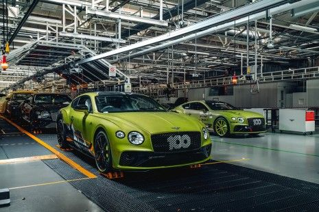 Bentley vai transformar-se numa marca 100% elétrica a partir de 2030