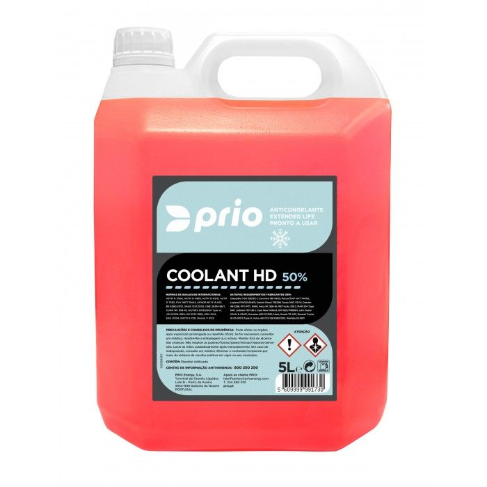 PRIO COOLANT HD 50% 5L