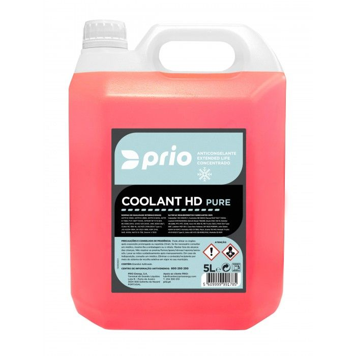 PRIO COOLANT HD PURE 5L
