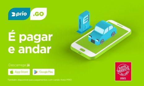 App PRIO.GO é distinguida como Produto do Ano 2021