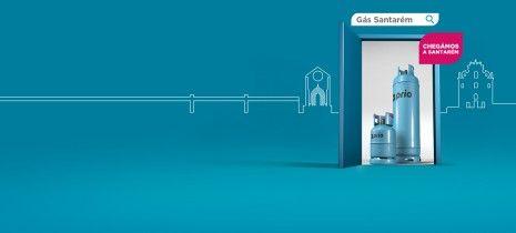 Santarém é o novo distrito onde é possível encomendar gás online PRIO