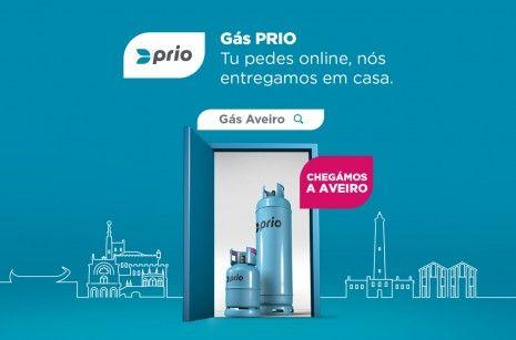 Já podes encomendar gás online PRIO em Aveiro