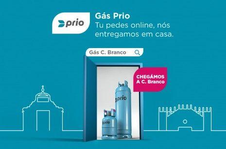 Olá, Castelo Branco: o gás online da PRIO já chega a mais um distrito