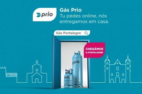 O gás online da PRIO já chegou a Portalegre