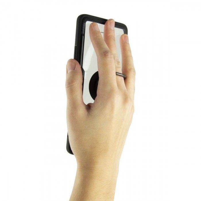 Capa com Anel Huawei Mate 20 Pro KSIX Transparente
