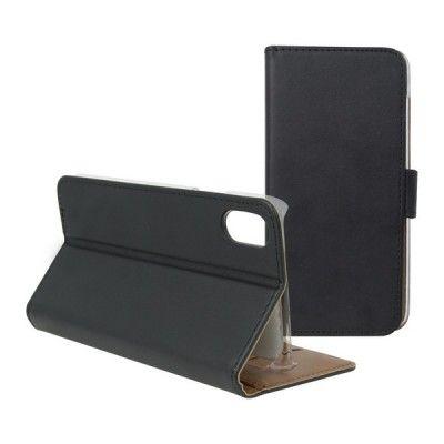 Capa tipo Livro para o Telemóvel Iphone X KSIX Wallet Preto