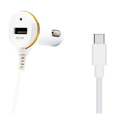 Carregador de Carro ONE 138239 USB Branco